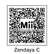 QR Code for Zendaya Coleman by Magicmadddy