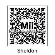 QR Code for Sheldon Cooper by complete geek