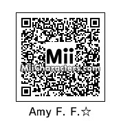QR Code for Amy Farrah Fowler by complete geek