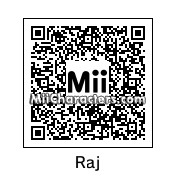 QR Code for Raj Koothrappali by complete geek