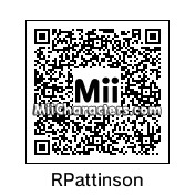 QR Code for Robert Pattinson by Cpt Kangru