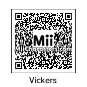 QR Code for Brad Vickers by Data Hawk
