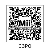 QR Code for C-3PO by Avery5733