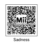 QR Code for Sadness by DTG
