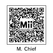 QR Code for Master Chief by DTG