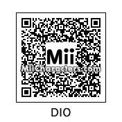 QR Code for Dio Brando by Eben Frostey