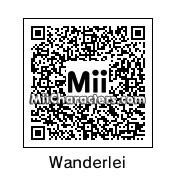QR Code for Wanderlei Silva by Wally