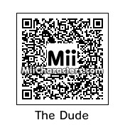 QR Code for The Dude by Fureon