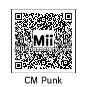 QR Code for CM Punk by thebellatwins