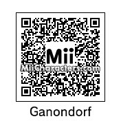 QR Code for Ganondorf by GenericGamer