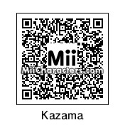 QR Code for Ryuuichi Kazama by Ukloim