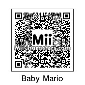 QR Code for Baby Mario by Ukloim