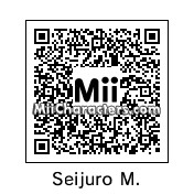 QR Code for Seijuro Mikoshiba by GraceTwist