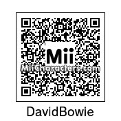 QR Code for David Bowie by Andy Anonymous
