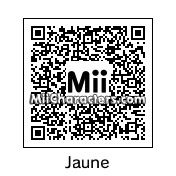 QR Code for Jaune Arc by CancerTurtle