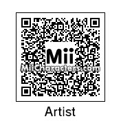 QR Code for The Artist by aMAXproduction