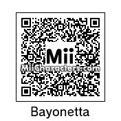 QR Code for Bayonetta by aMAXproduction
