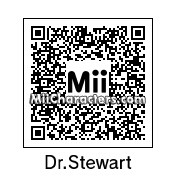 QR Code for Dr. Stewart by aMAXproduction