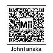 QR Code for John Tanaka by aMAXproduction