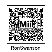 QR Code for Ron Swanson by busdwellingowl