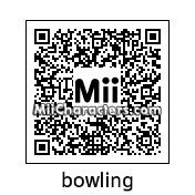 QR Code for Bowling by Master Mii