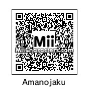 QR Code for Amanojaku by rhythmclock