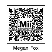 QR Code for Megan Fox by Ajay
