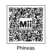 QR Code for Phineas Flynn by Toon and Anime