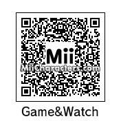 QR Code for Mr. Game & Watch by Turbotastic