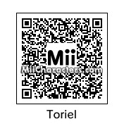 QR Code for Toriel by Levi1208