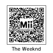 QR Code for Abel Tesfaye by 3dsGamer2007