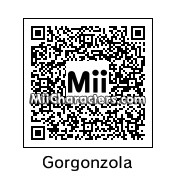QR Code for Gorgonzola by Toon and Anime