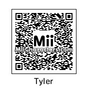 QR Code for Tyler Bowman by Auralux