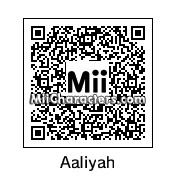 QR Code for Aaliyah by Gabriel Retron