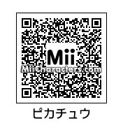 QR Code for Pikachu by J1N2G