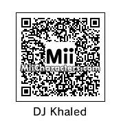 QR Code for DJ Khaled by celery man