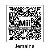 QR Code for Jemaine Clement by Mordecai