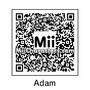 QR Code for Adam Ferrara by Simon Seville