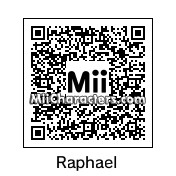 QR Code for Raphael by Toon and Anime