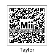 QR Code for Taylor Lautner by Relley