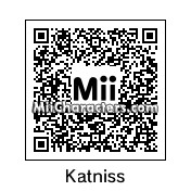 QR Code for Katniss Everdeen by BigDorian