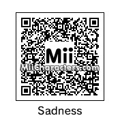 QR Code for Sadness by ChelseaHedgeho