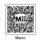 QR Code for Manic the Hedgehog by ChelseaHedgeho
