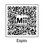 QR Code for Espio the Camelon by ChelseaHedgeho