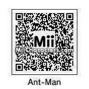 QR Code for Ant-Man by Ninja Aure