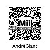 QR Code for Andre Roussimoff by Gabriel Retron