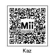 QR Code for Kaz by rhythmclock