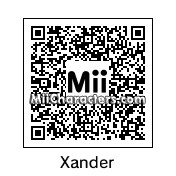 QR Code for Xander by AndrewXIV