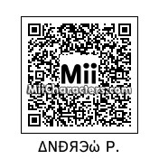 QR Code for Andrew by AndrewXIV