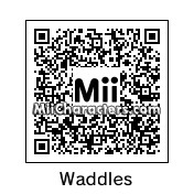 QR Code for Waddles by BlueCube